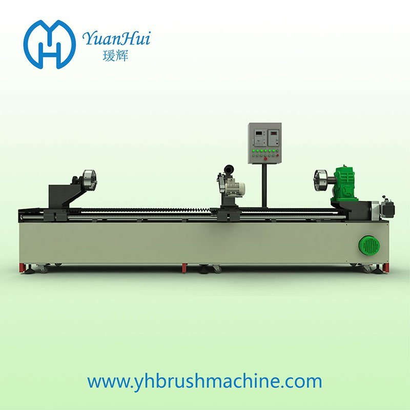 YuanHui Single Metal Back CNC Strip Brush Wind Machine