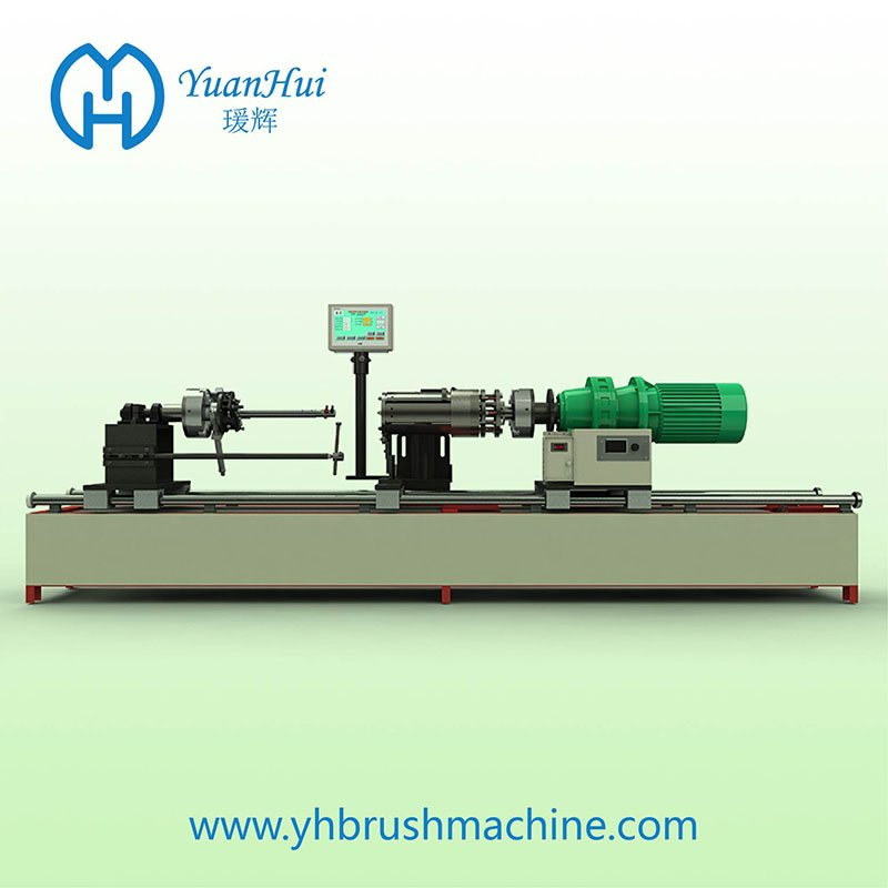 YuanHui Internal Weld Cylinder Metal Back Strip Brush Machine