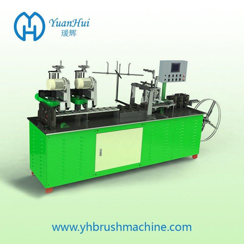 YuanHui 8 Roller Single Metal Back Strip Brush Making Machine