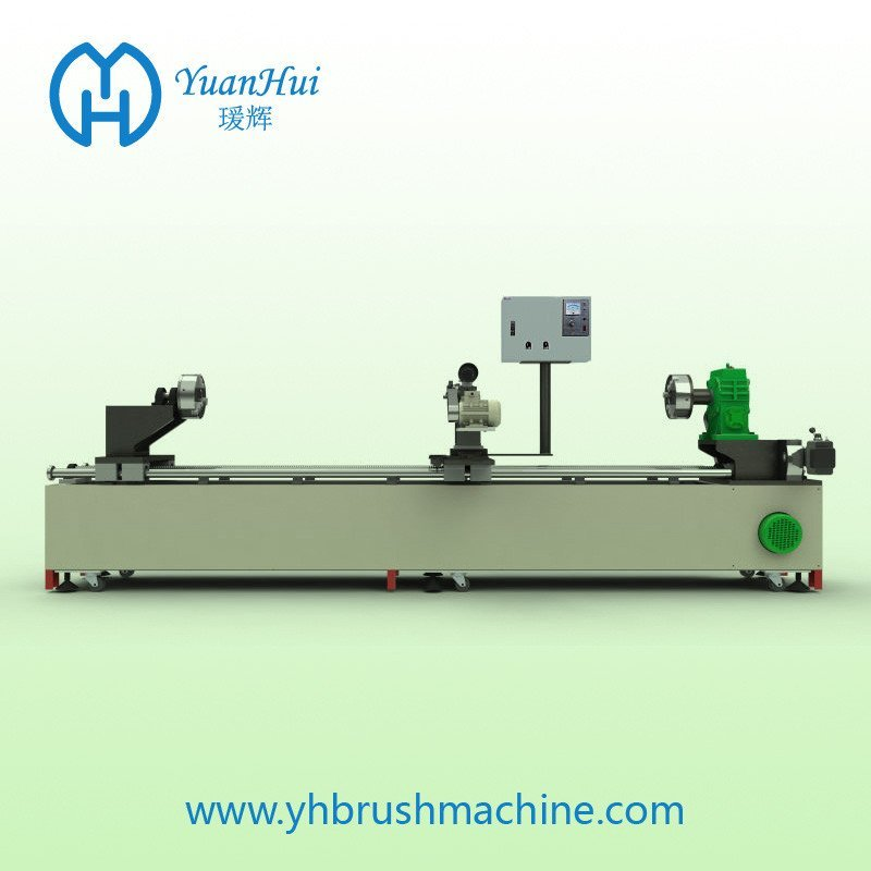 YuanHui Double Metal Band Strip Brush Wind Machine
