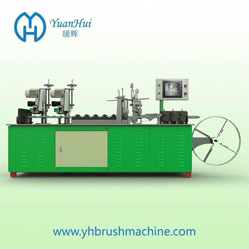 YuanHui 12 Roller Single Metal Back Strip Brush Making Machine
