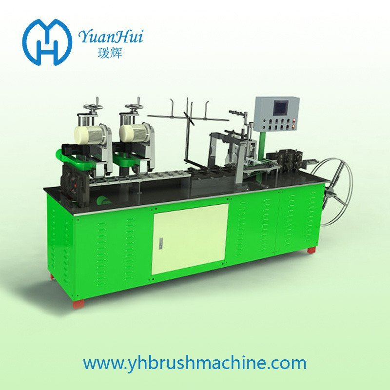 Single Metal Back Strip Brush Making Machine