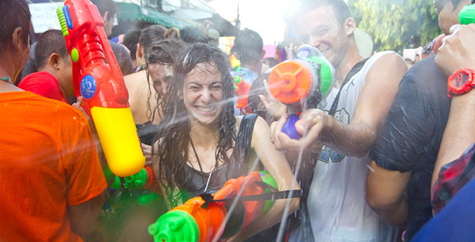 Postal Service Announcement:Package Sent to Thailand May Delayed by The Songkran Festival