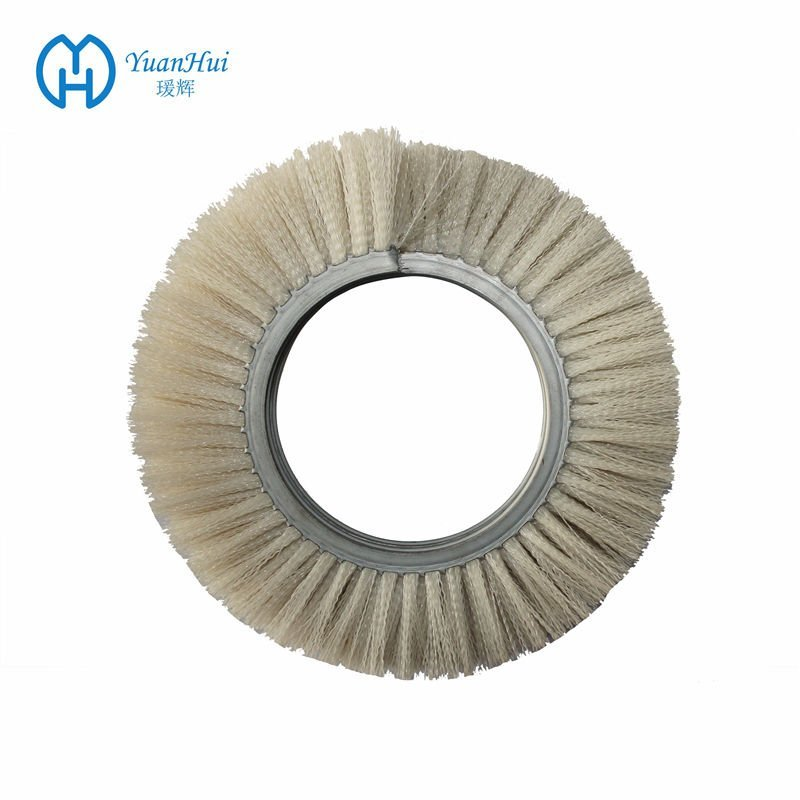 YuanHui Double Metal Band Cylinder Brush - Plastic Filament Brush