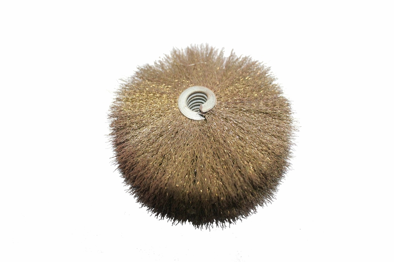 YuanHui Single Metal Band Cylinder Brush - Stainless Steel Wire Brush
